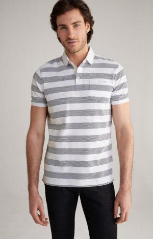 Joop! 30024665 100 vīriešu polo T-krekls balts