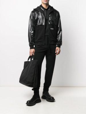 Karl Lagerfeld 705007 511900 990 vīriešu virsjaka melna