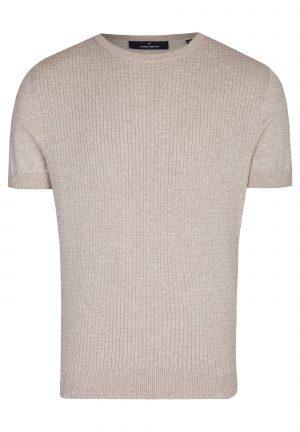 Daniel Hechter 65002 111811 410 vīriešu T-krekls bēšs