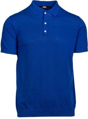 Karl Lagerfeld 655023 511301 660 vīriešu polo T-krekls zils