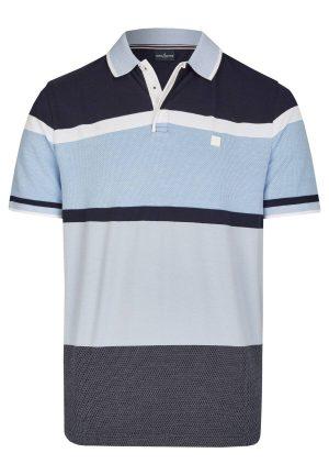 Daniel Hechter 74007 111911 680 vīriešu polo T-krekls zils