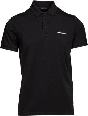 Karl Lagerfeld 745015 511221 990 vīriešu polo T-krekls melns