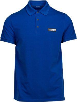 Karl Lagerfeld 745016 511221 660 vīriešu polo T-krekls zils