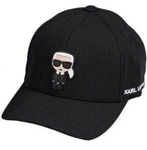 Karl Lagerfeld 805610 511118 990 vīriešu cepure melna