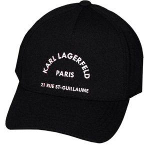 Karl Lagerfeld 805616 511118 990 vīriešu cepure melna