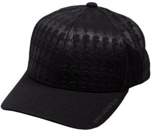 Karl Lagerfeld 805621 511121 990 vīriešu cepure melnā krāsā