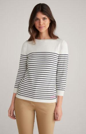 Joop! 30026545 101 sieviešu džemperis balts