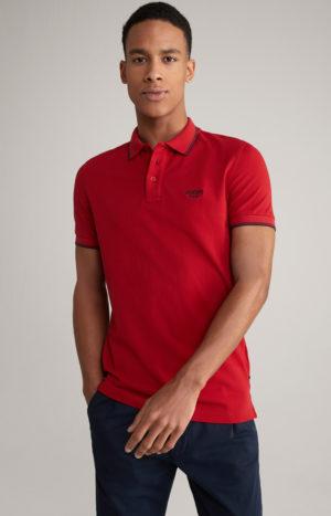 Joop! 30025567 615 vīriešu polo T-krekls sarkans