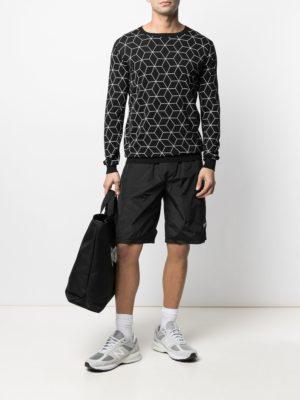 Karl Lagerfeld 655022 511301 990 vīriešu džemperis melns