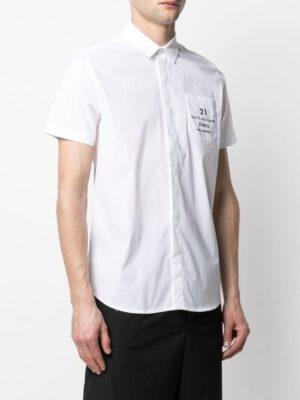Karl Lagerfeld 605910 511600 10 vīriešu krekls balts