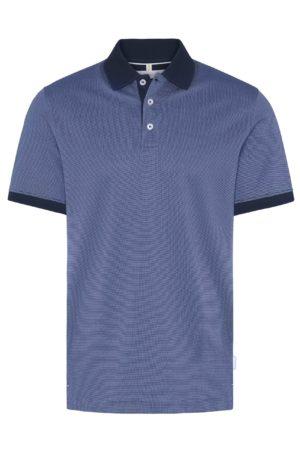 Bugatti 815075062 vīriešu polo T-krekls zils