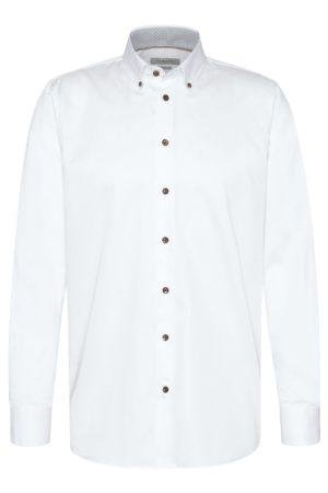 Bugatti 935078500 vīriešu krekls balts