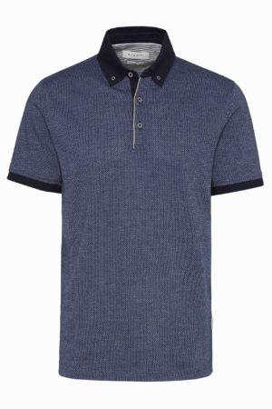 Bugatti 815075101 vīriešu polo T-krekls zils
