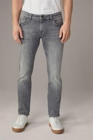 Strellson 30026789 vīriešu džinsi pelēkā krāsā