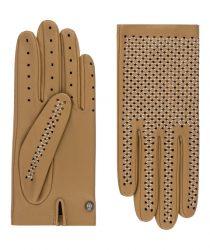 Roeckl 13012-317 170 sieviešu ādas cimdi brūni