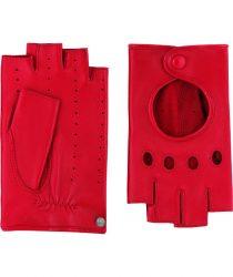 Roeckl 13013-937 445 sieviešu ādas cimdi sarkani