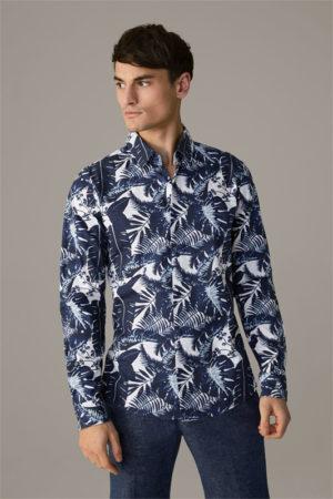 Strellson 30026201 vīriešu krekls zilā krāsā