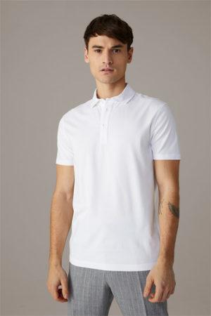 Strellson 30025792 vīriešu polo T-krekls balts