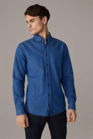 Strellson 30026220 vīriešu krekls zilā krāsā