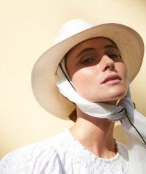Roeckl 61031-034 104 sieviešu cepure balta