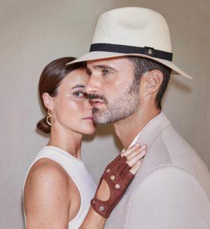 Roeckl 61031-088 104 vīriešu cepure baltā krāsā
