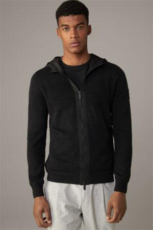 Strellson 30026055 vīriešu sportiska jaka melna