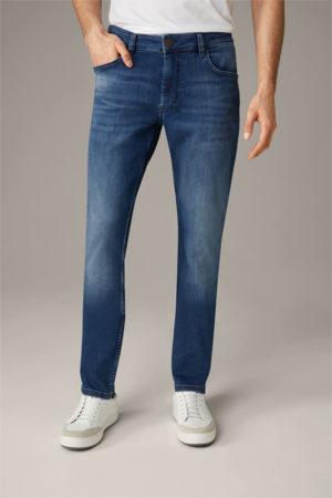 Strellson 30026785 vīriešu džinsi zilā krāsā