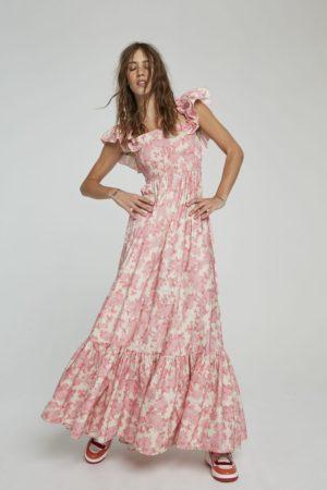 Aniye By 185822 2021 sieviešu kleita rozā