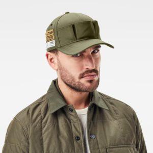 D17645.C690.719 vīriešu cepure zaļa