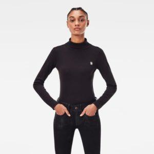 G-star D18039.C515.6484 sieviešu t-krekls melns