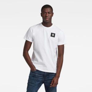 G-star D18197.C336.110 vīriešu t-krekls balts