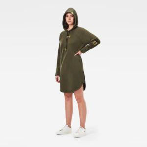 G-star D19095.A613.723 sieviešu kleita zaļa