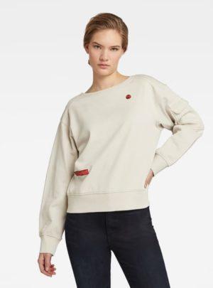 G-star D19127.A970.1603 sieviešu džemperis balts