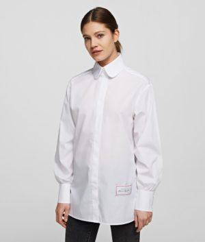 Karl Lagerfeld 205W1612 sieviešu krekls balts