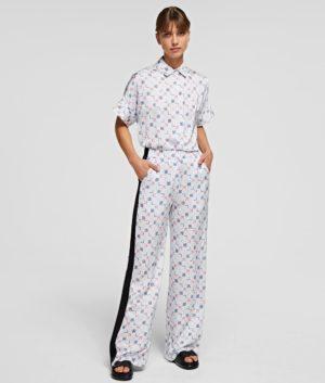 Karl Lagerfeld 211W1000 sieviešu bikses baltas