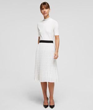 Karl Lagerfeld 211W1202 sieviešu svārki balti
