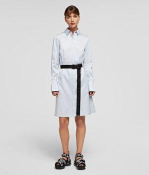 Karl Lagerfeld 211W1300 sieviešu kleita balta