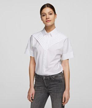 Karl Lagerfeld 211W1604 sieviešu krekls balts
