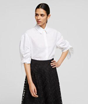 Karl Lagerfeld 211W1606 sieviešu krekls balts