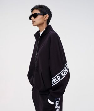 Karl Lagerfeld 211W1802 sieviešu džemperis melns