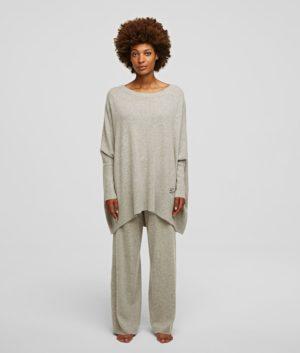 Karl Lagerfeld 211W2062 sieviešu džemperis bēšs