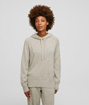 Karl Lagerfeld 211W2063 sieviešu džemperis gaiši pelēks