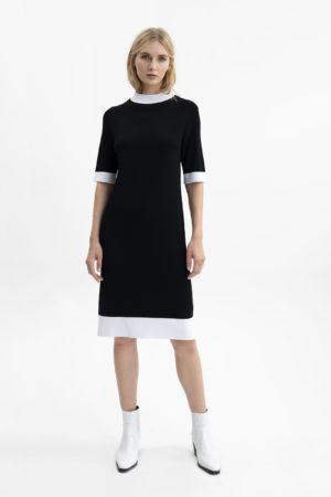UNQ 311182 20021 9 sieviešu kleita melna