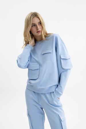 UNQ 811263 30001 629 sieviešu džemperis zils
