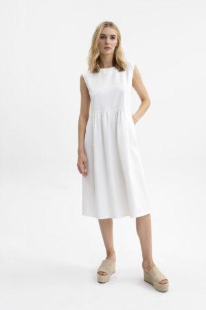 UNQ 311300 10144 1 sieviešu kleita balta