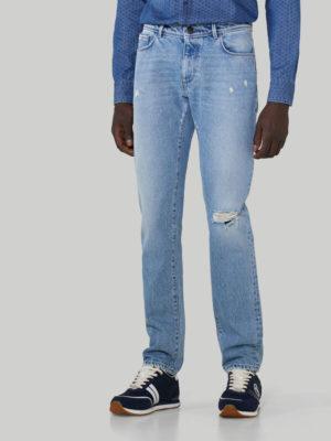Trussardi 52J000001T005104U120 vīriešu džinsi zili