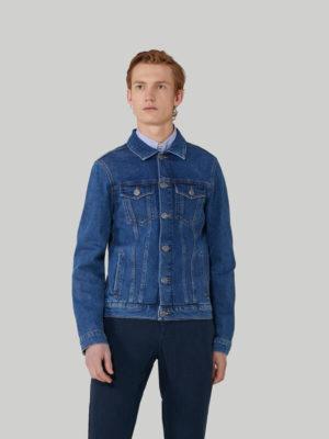 Trussardi 52S002551Y000156U280 vīriešu džinsa jaka