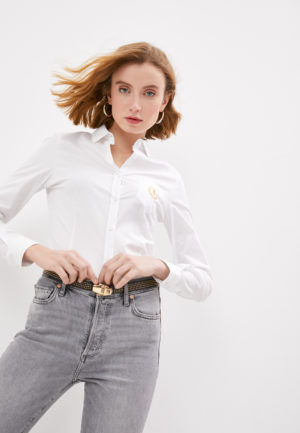 Trussardi 56C004511T003082W001 sieviešu krekls balts