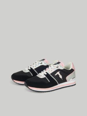 Trussardi 79A006449Y099999K313 Sieviešu apavi melni ar rozā elementiem