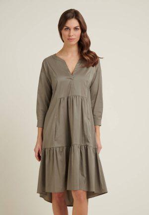 Daniel Hechter 14220 711004 550 sieviešu kleita pelēka